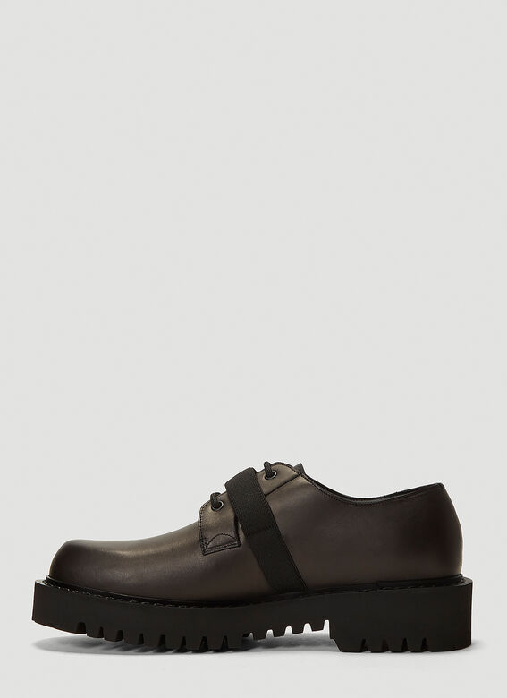 Valentino Buckle-Detail Lace-Up Shoes 3