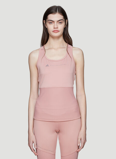 Adidas by Stella McCartney Essential Mesh Panel Top