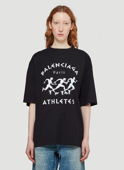 Balenciaga Oversized Athletes T-Shirt