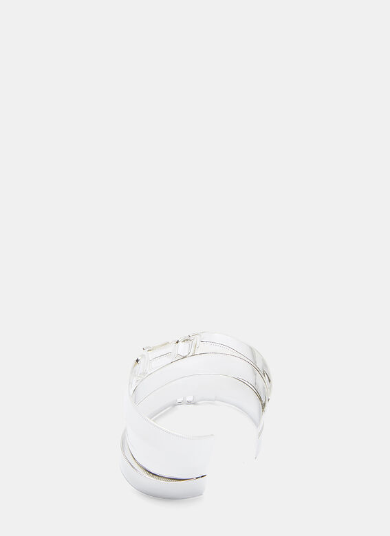 Maison Margiela Overlapped Buckle Bangle