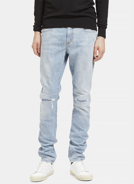 Distressed Low Waisted Jeans