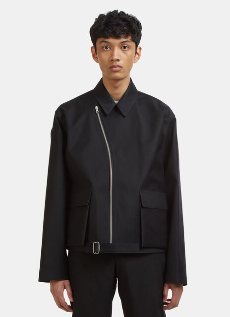 Mackintosh 0002 Bonded Asymmetric Zip Jacket
