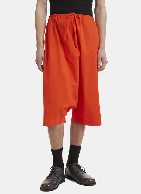 Marvielab Dropped Crotch Shorts