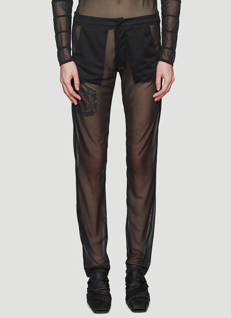 Roni Ilan Sheer Tailored Pants