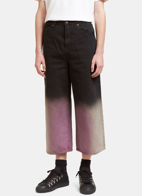 Acid Dipped Oversized Fit Jeans