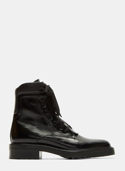 Image of William 25 Front Zip Leather Boots