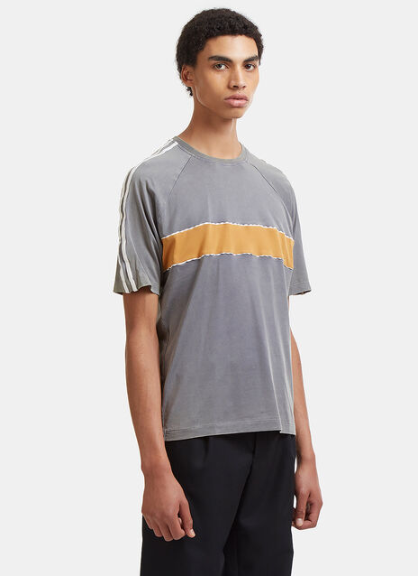 George Contrast Panelled Raglan T-Shirt