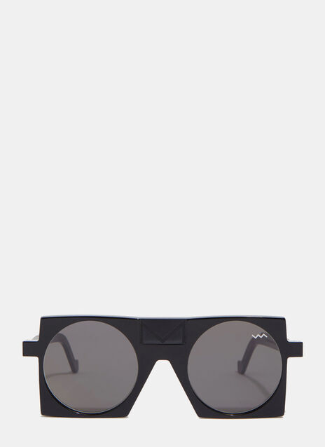 VAVA VAVA CL000M SUNGLASSES IN BLACK LIMITED EDITION WITH SIGNATURE
