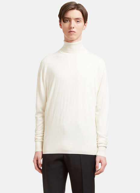 Aiezen AIEZEN Cashmere and Silk Roll Neck