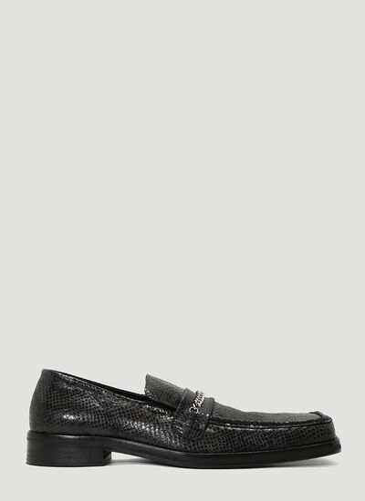Martine Rose Embossed Loafers