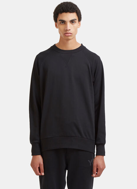 Raglan Sleeved Crew Neck Sweater