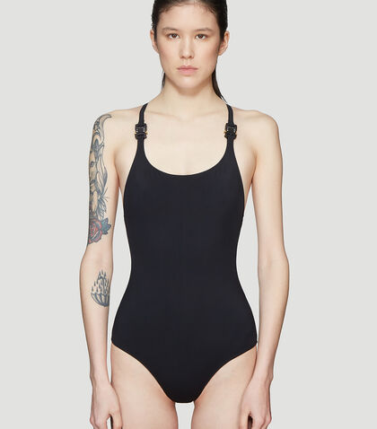 ALYX LUCY SWIMSUIT IN BLACK