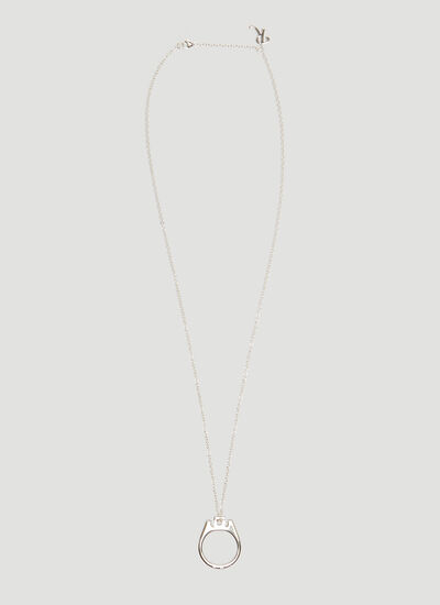 Raf Simons Can Tab Necklace