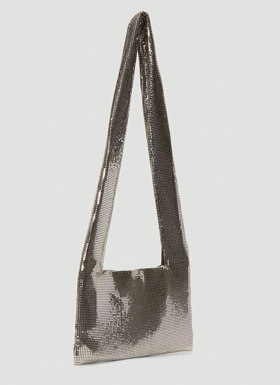 Kara Metal Mesh Crossbody Bag 3