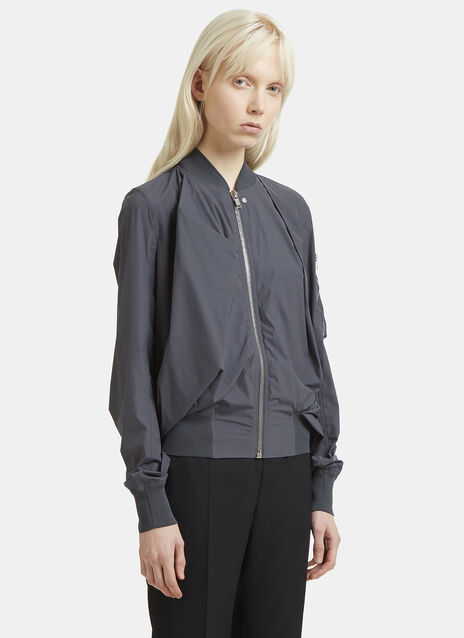 Rick Owens Flight Balloon Back Bomber Jacket