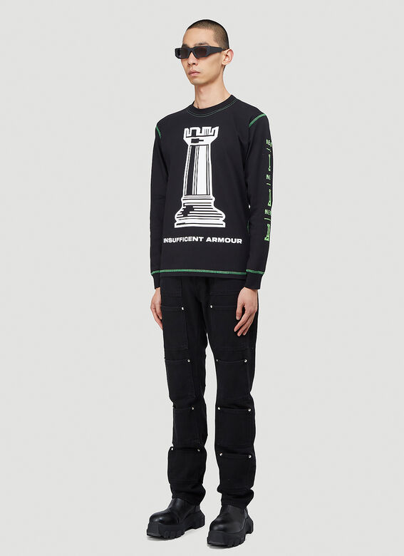United Standard Insufficient Armour Long-Sleeved T-Shirt 2