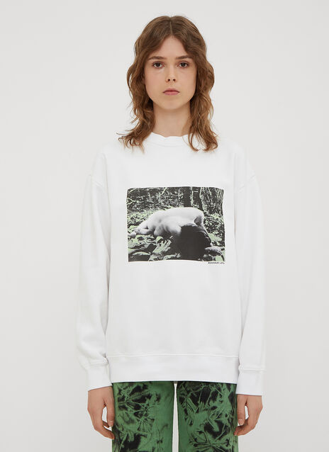 Eckhaus Latta Sleeping Boy Sweatshirt