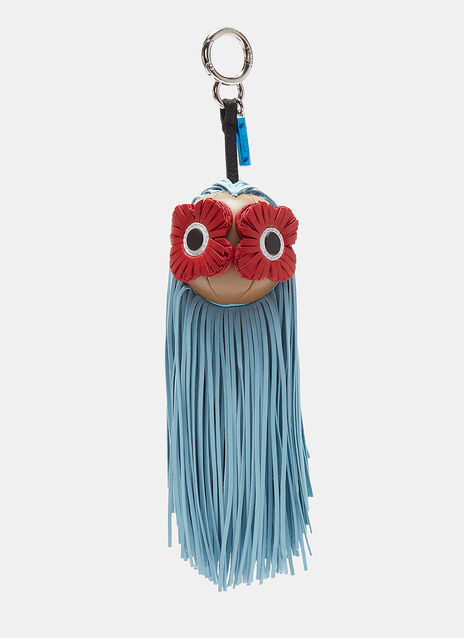 Fringed Flower Face Charm