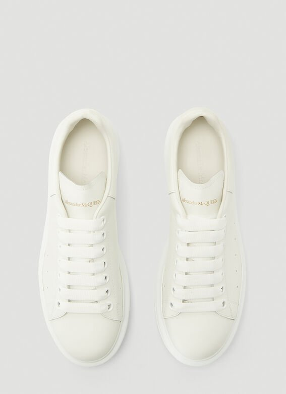 Alexander McQueen LARRY/LARRY LEATHER UPPER AND RU WHITE/WHITE 2