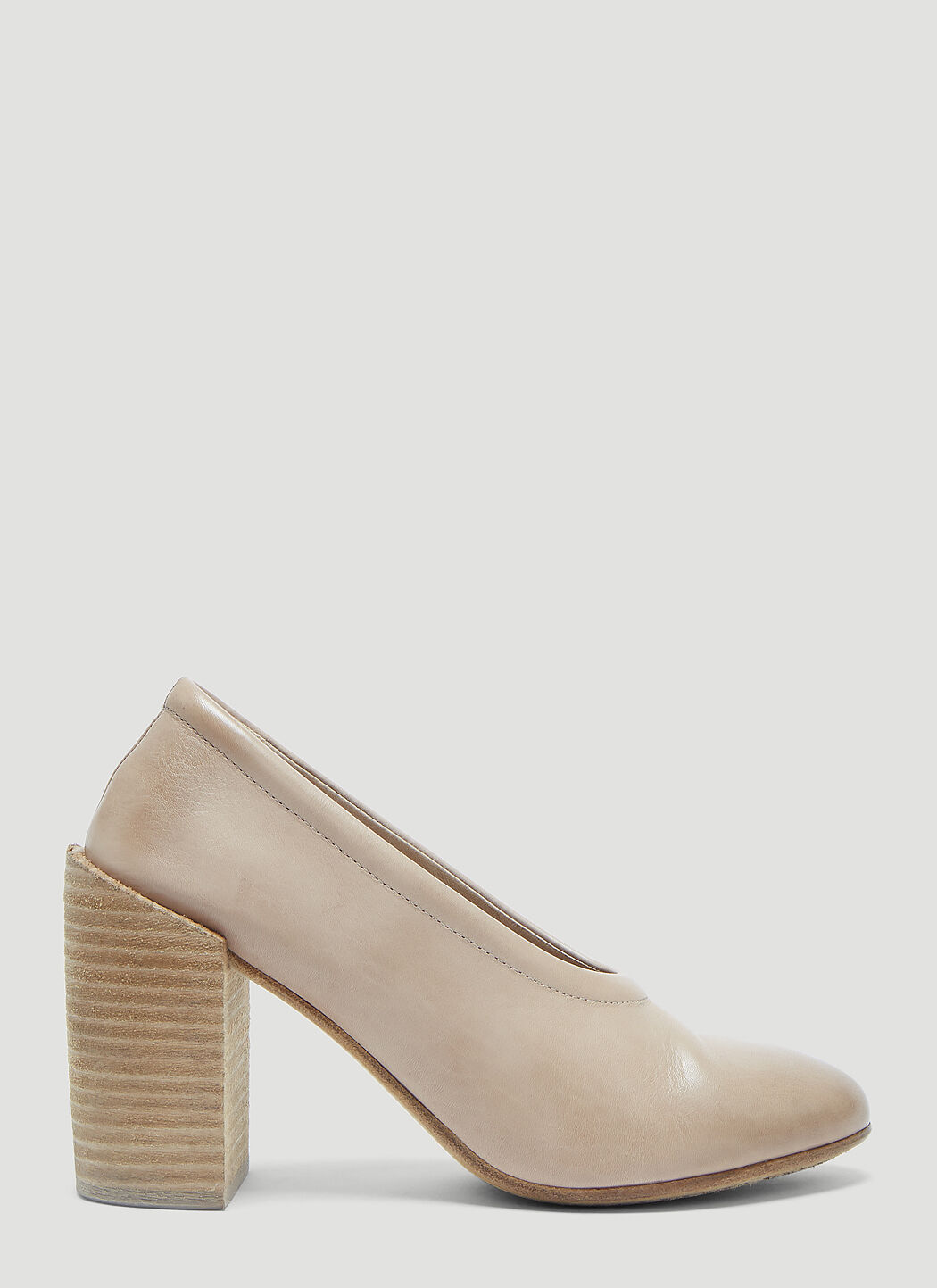 Marsèll Taporsolo Leather Heels in Tan