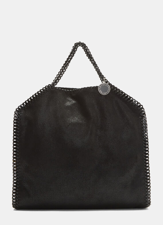 741d1e3f92 Stella Mccartney Small Falabella Chain Tote Bag in Black