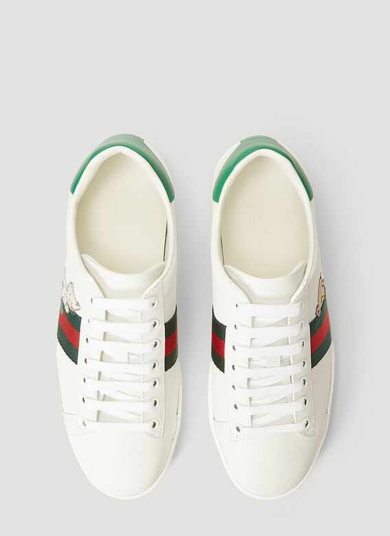 Gucci ACE WITH CAT LOGO 2
