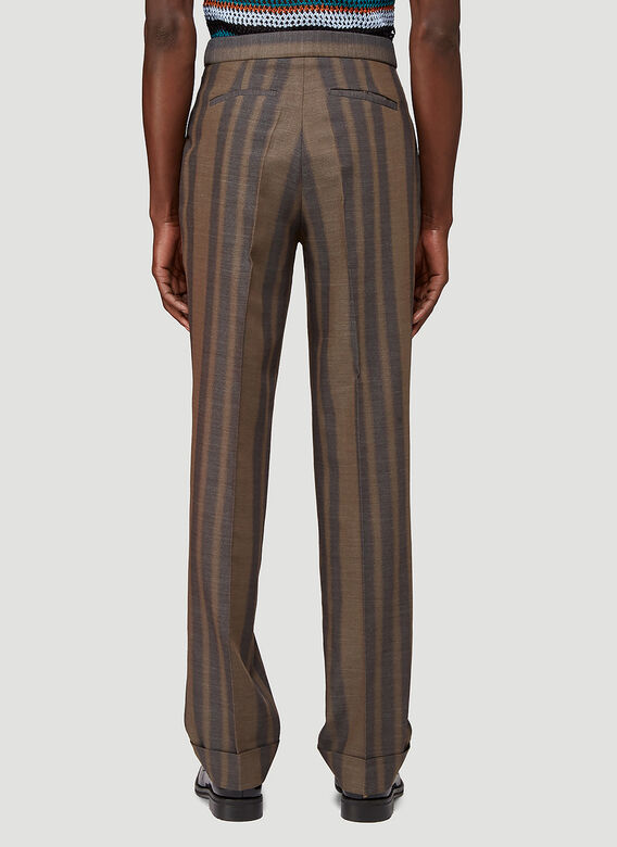 Wales Bonner ISAACS TAILORED TROUSERS 4