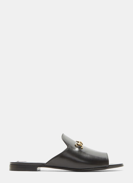 Gucci Open Toe Slipper Shoes