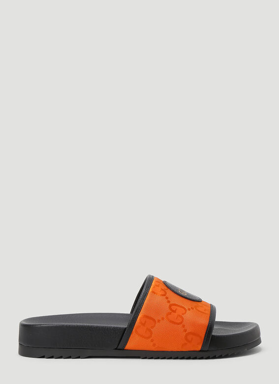 Gucci Eco-Nylon Slides 1