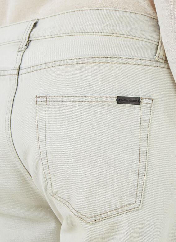 Saint Laurent RELAXED STRAIGHT JEA 5