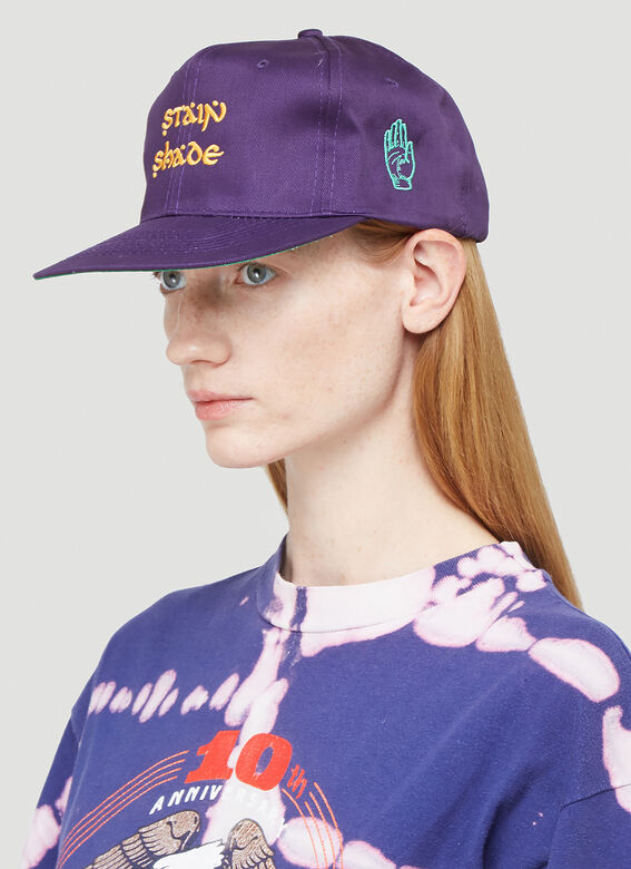 Stain Shade Embroidered Baseball Cap 2