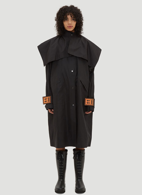 Off-White Long K-Way Rain Coat