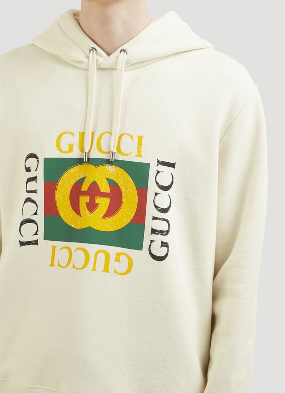 Gucci Logo Hooded Sweater 5