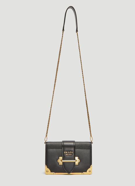 Prada Mini Cahier Shoulder Bag