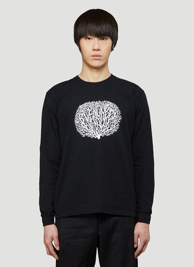 Eden Power Corp Recycled Coral Long-Sleeved T-Shirt