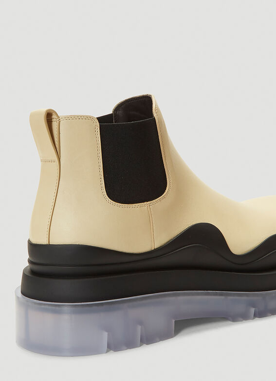 Bottega Veneta Tire Ankle Boots 5