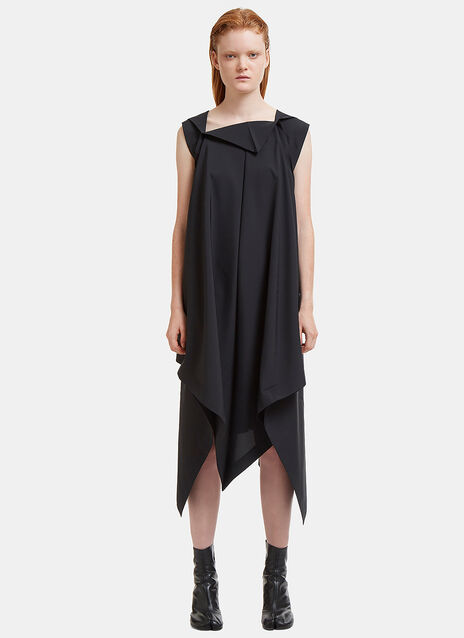 Rhombus Asymmetric Dress