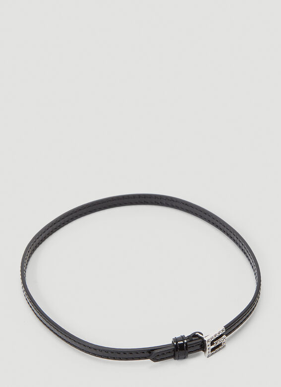 Gucci Leather Choker Necklace 1