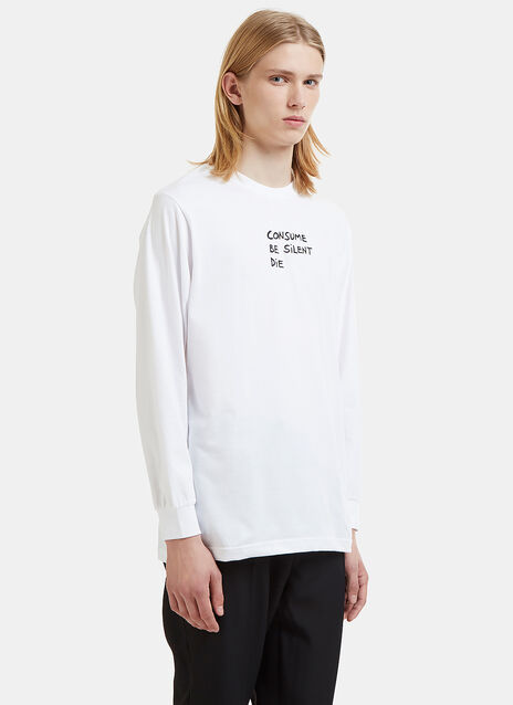 Veni Vedi Vici Consume Long Sleeve T-Shirt