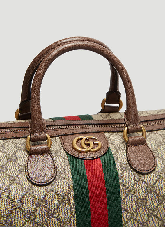 Gucci Ophidia GG Medium Carry-On Duffle Bag 6