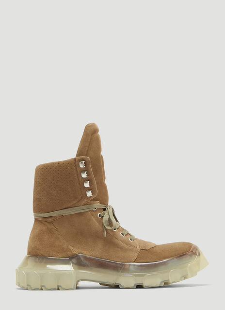 Rick Owens Tractor Dunk Boots