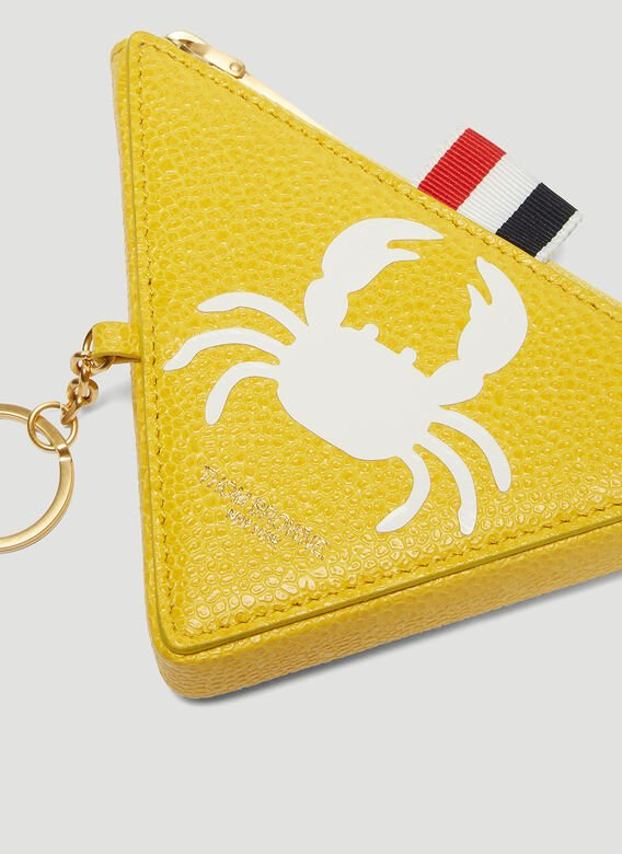 34fe9ff4293 Thom Browne Crab Triangle Coin Pouch Wallet | LN-CC