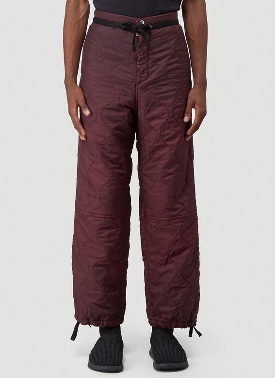OAMC Quilted Combat Pants 1