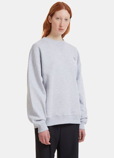 Yana Face Crew Neck Sweater