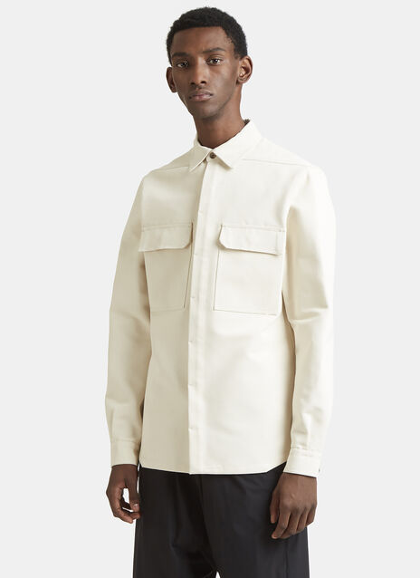 Rick Owens Pocket Work Shirt