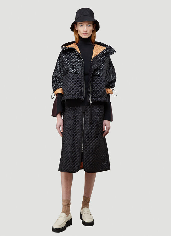2 Moncler 1952 Quilted Skirt 2