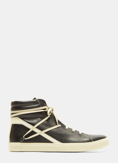 Rick Owens Geothrasher High-Top Sneakers