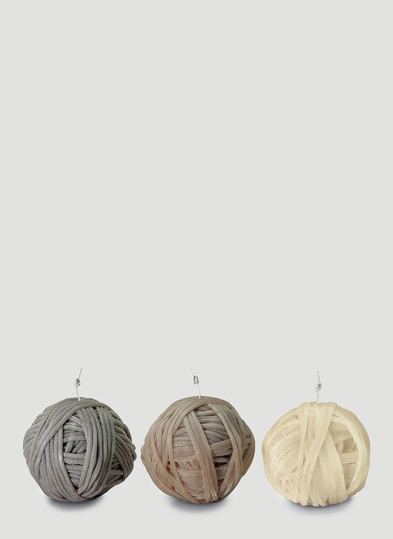 Missoni Home Three-Pack Gomitolo Candles 1