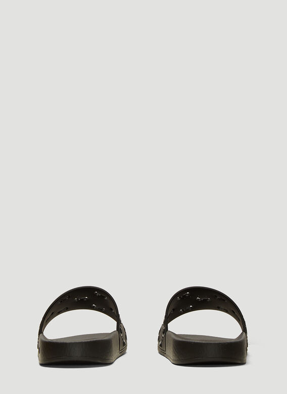 Gucci GG Cut-Out Rubber Slides 4