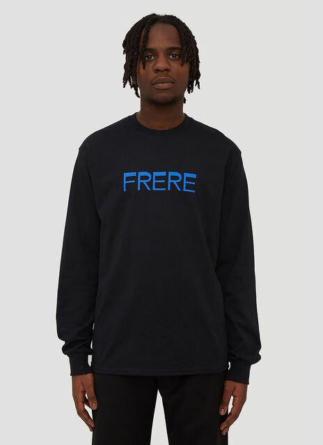 Frere Frere Print Long Sleeve T-Shirt